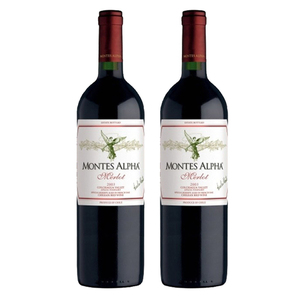 Montes Alpha Merlot 2 Pack (750ml per Bottle)