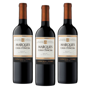 Marques de Casa Concha Merlot 3 Pack (750ml per Bottle)