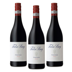False Bay Pinotage Wine 2013 3 Pack (750ml per Bottle)