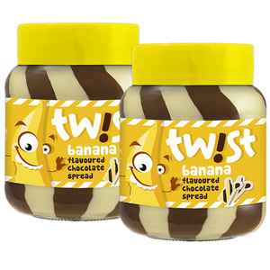 Twist Banana Flavoured Chocolate 2 Pack (400g per Pack)