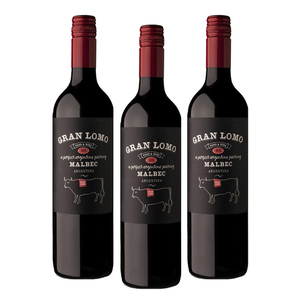 Gran Lomo Malbec Red Wine 3 Pack (750ml per Bottle)