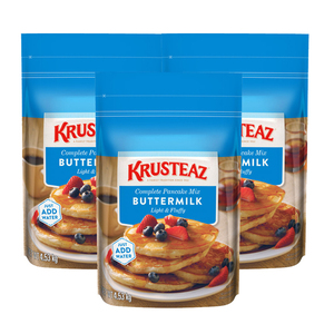Krusteaz Butter Milk Pancake Mix 3 Pack (4.53kg per pack)