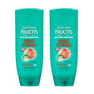 Garnier Fructis Grow Strong Fortifying Condiotioner 2 Pack (384.4ml per pack)