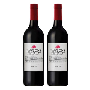 Penfolds Rawson's Retreat Merlot Red Wine 2 Pack (750ml per Bottle)
