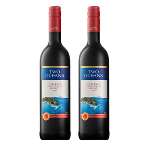 Two Oceans Cabernet Sauvignon Merlot 2 Pack (750ml per Bottle)
