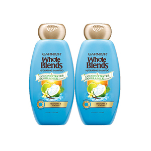 Garnier Whole Blends Haircare Hydrating Shampoo 2 Pack (650ml per pack)