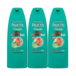Garnier Fructis Grow Strong 2-in-1 Shampoo + Conditioner 3 Pack (751.1ml per pack)