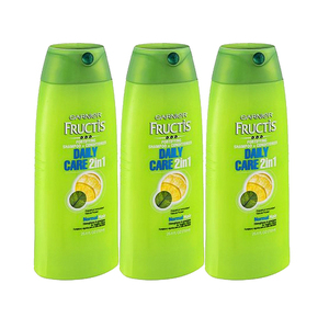 Garnier Fructis Daily Care 2-in-1 Shampoo + Conditioner 3 Pack (751.1ml per pack)