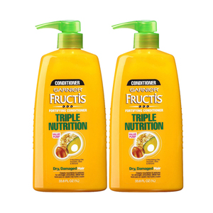 Garnier Fructis Triple Nutrition Conditioner 2 Pack (1.18L per pack)