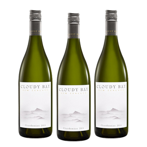 Cloudy Bay Chardonnay 3 Pack (750ml per Bottle)