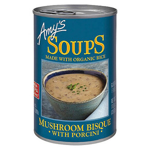 Amy's Soups Mushroom Bisque with Porcini 397g