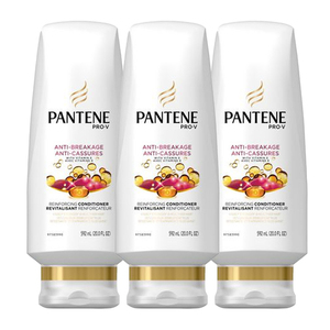 Pantene Anti-Breakage Anti-Cassures Conditioner 3 Pack (592ml per pack)