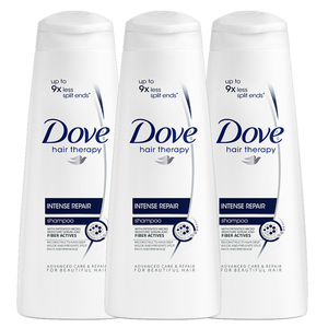 Dove Intense Repair Shampoo 3 Pack (350ml per pack)