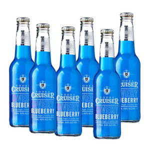Vodka Cruiser Very Blueberry 6 Pack (275ml per Bottle)
