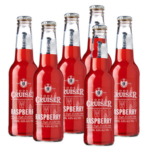 Vodka Cruiser Wild Raspberry 6 Pack (275ml per Bottle)