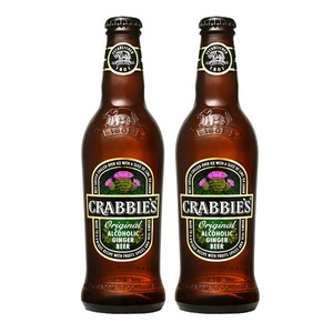 Crabbie's Original  Alcoholic Ginger Beer 2 Pack (330ml per Bottle)