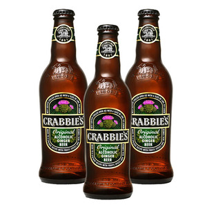 Crabbie's Original  Alcoholic Ginger Beer 3 Pack (330ml per Bottle)