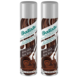 Batiste Plus Divine Dark Dry Shampoo 2 Pack (200ml per pack)