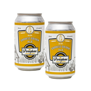 Persephone Goddess Golden Ale 2 Pack (355ml per Can)