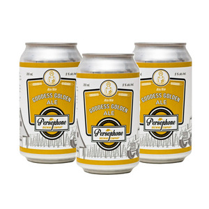 Persephone Goddess Golden Ale 3 Pack (355ml per Can)