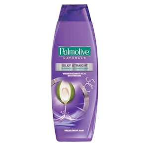 Palmolive Natural Silky Straight Shampoo 400ml