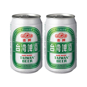 Gold Medal Taiwan Beer 2 Pack (330ml per Can)
