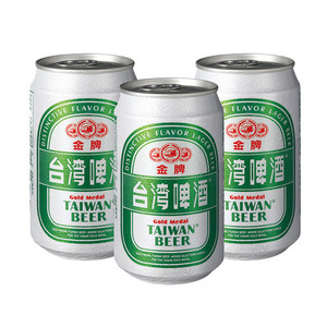 Gold Medal Taiwan Beer 3 Pack (330ml per Can)