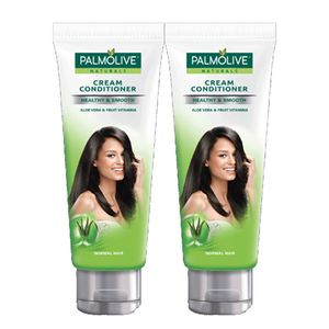 Palmolive Healthy & Smooth Cream Conditioner 2 Pack (180ml per pack)