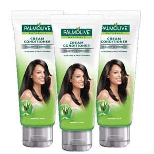 Palmolive Healthy & Smooth Cream Conditioner 3 Pack (180ml per pack)