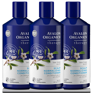 Avalon Organics Tree Mint Conditioner 3 Pack (397g per pack)