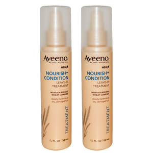 Aveeno Nourish+Condition Treatment 2 Pack (154ml per pack)