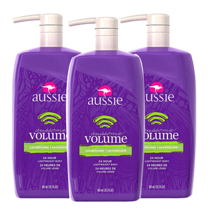 Aussie Aussome Volume Conditioner 3 Pack (865ml per pack)