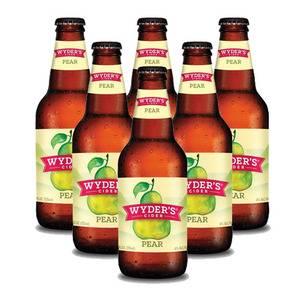 Wyder's Pear Cider 6 Pack (355ml per Bottle)