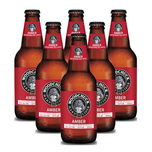 Woodchuck Amber Hard Cider 6 Pack (355ml per Bottle)