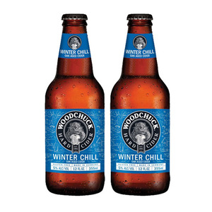 Woodchuck Winter Chill Hard Cider 2 Pack (355ml per Bottle)