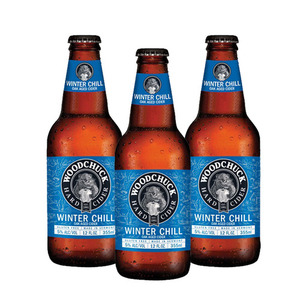 Woodchuck Winter Chill Hard Cider 3 Pack (355ml per Bottle)