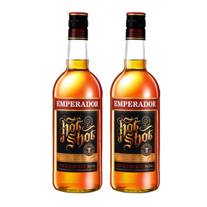 Emperador Hot Shot Brandy 2 Pack (750ml per Bottle)