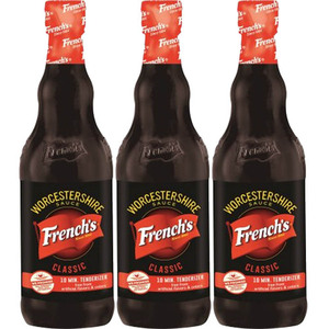 French's Worcestershire Sauce 3 Pack (295g per Bottle)