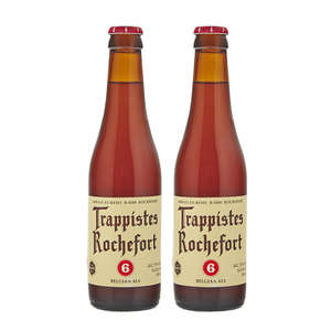 Brasserie de Rochefort Trappistes Rochefort 6 Beer 2 Pack (330ml per Bottle)
