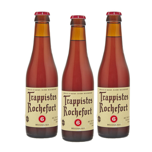 Brasserie de Rochefort Trappistes Rochefort 6 Beer 3 Pack (330ml per Bottle)