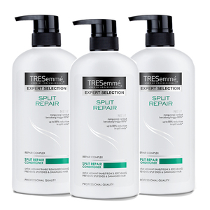 TRESemme Split Repair Conditioner 3 Pack (600ml per pack)