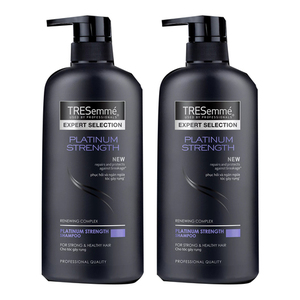 TRESemme Platinum Strength Shampoo 2 Pack (600ml per pack)