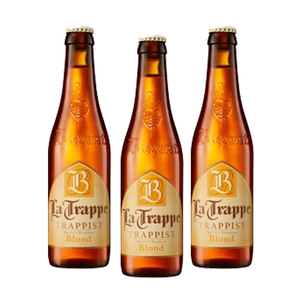 La Trappe Trappist Blond Beer 3 Pack (330ml per Bottle)