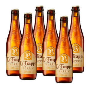 La Trappe Trappist Blond Beer 6 Pack (330ml per Bottle)