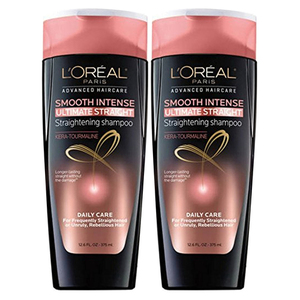 Loreal Hair Expertise Smooth Intense Shampoo 2 Pack (750ml per pack)