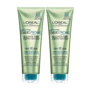 Loreal Everstrong Sulfate-Free Shampoo 2 Pack (251.3ml per pack)