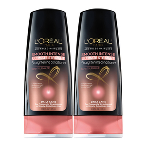 Loreal Hair Expertise Smooth Intense Conditioner 2 Pack (750ml per pack)