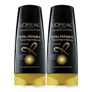 Loreal Hair Expertise Total Repair Conditioner 2 Pack (750ml per pack)