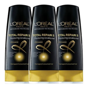 Loreal Hair Expertise Total Repair Conditioner 3 Pack (750ml per pack)