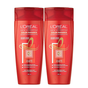 Loreal Color Radiance Shampoo 2 Pack (385ml per pack)